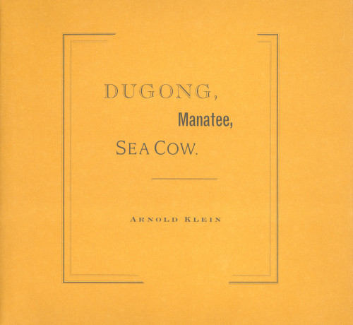 Dugong, Manatee, Sea Cow