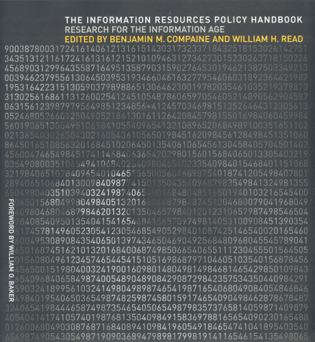 The Information Resources Policy Handbook: Research for the Information Age