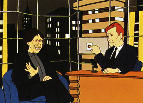 David Brenner Cartoon Animation