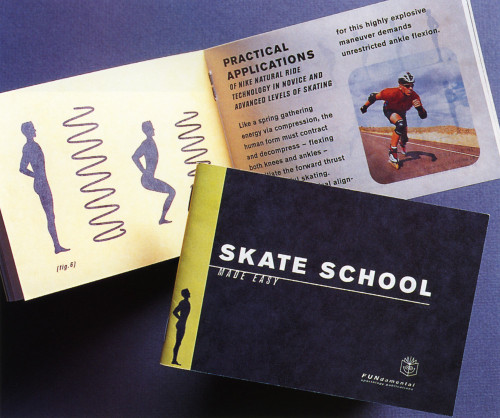 Skate School Booklet