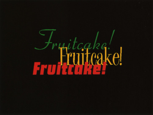 "Evenson Design Group Holiday ""Fruitcake"" Promotion"