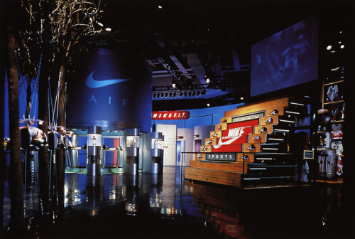 Nike Supershow 1996 Environment