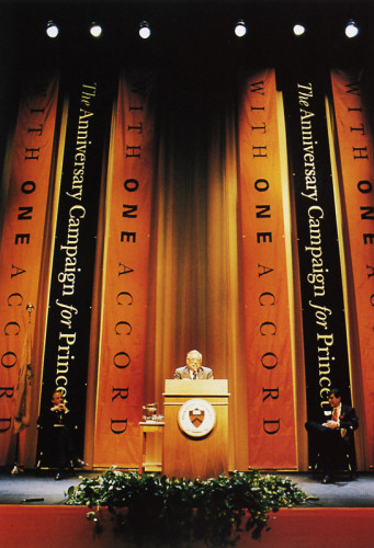"Princeton University ""With One Accord"" Fundraising Campaign Banners"