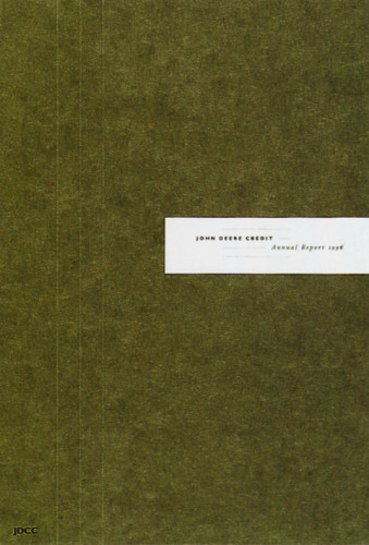 John Deere Credit 1996 Annual Report