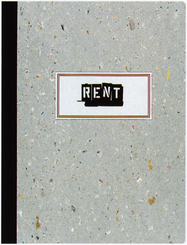 """Rent"" Souvenir Book"