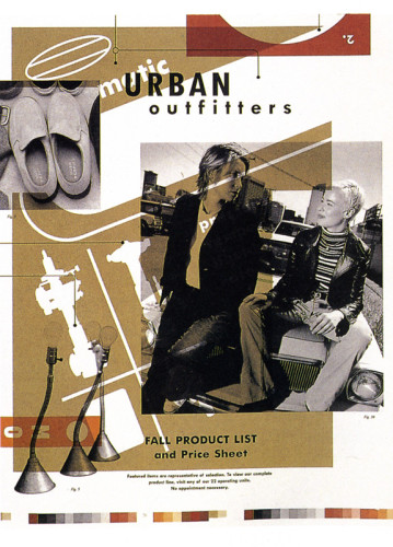 Urban Outfitters 1995 Fall Product List