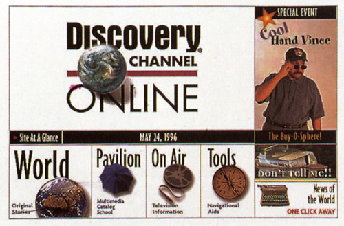 discovery channel online