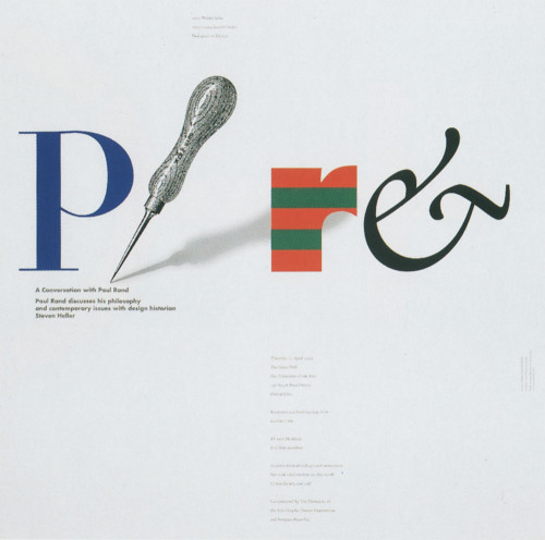Paul Rand Poster