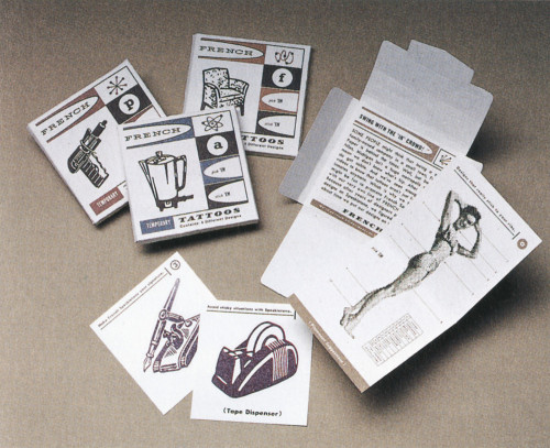 French Paper Co. Tattoos
