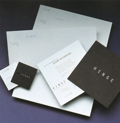 Hinge Stationery