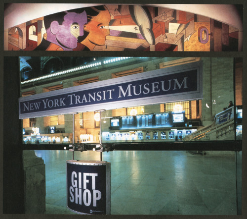 New york city transit museum gift shop and information center for Ny transit museum store