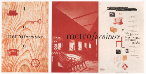 Metro Furniture Neocon tabloid