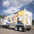 Union Trbune Comic Truck