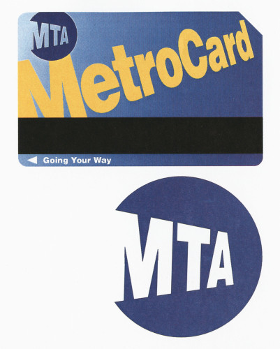 Metro Card for the Metropolitan Transportation Authority of New York