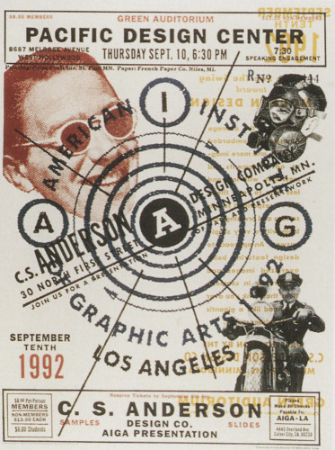 AIGA/Los Angeles Poster