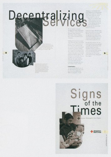 Signs of the Times/Greater Minneapolis American Red Cross 199l-1992