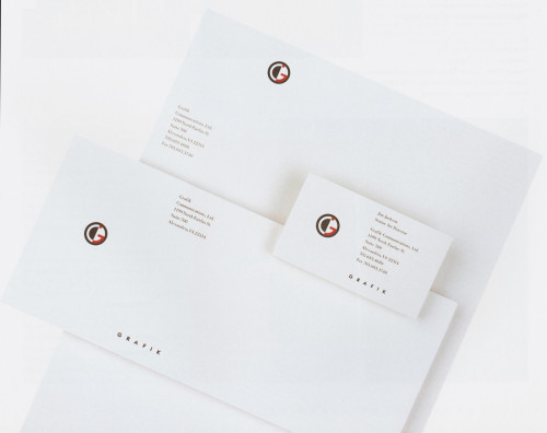 Grafik Communications, Ltd., stationery