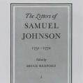 The Letters of Samuel Johnson, Vol. 1: 1731–1772