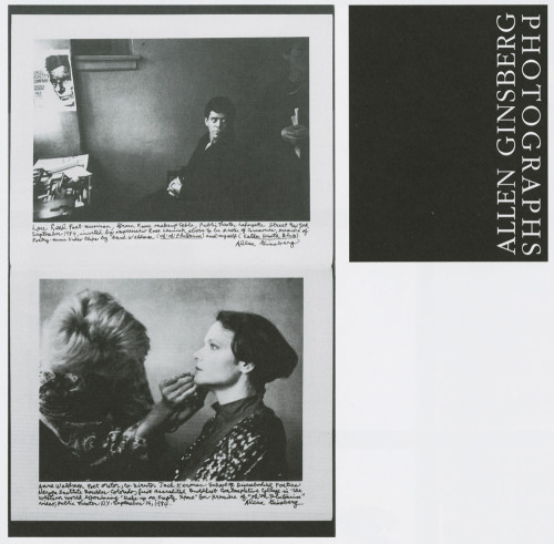 Allen Ginsberg: Photographs