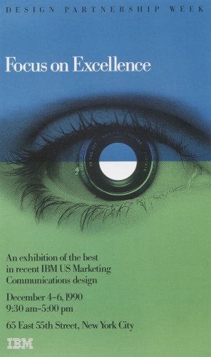 IBM: Focus on Excellence Poster