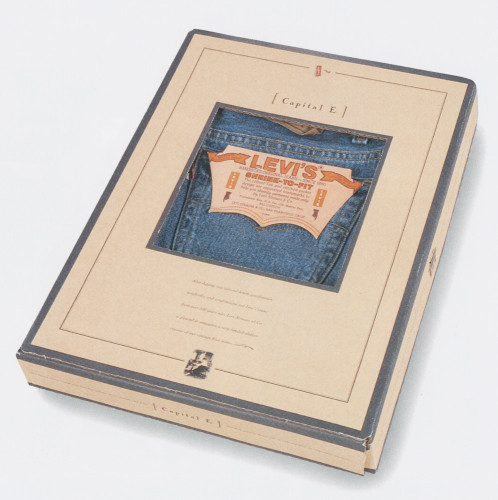"Levi's Capital ""E"" Packaging"