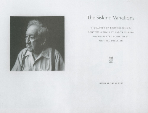 The Siskind Variations