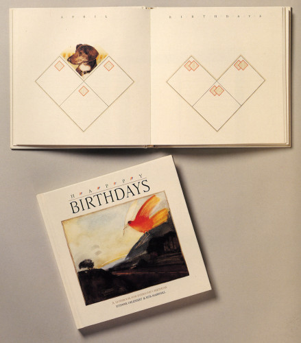 Happy Birthdays: A Notebook for Everyone's Birthday