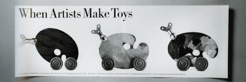 When Artists Make Toys