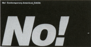 No! Contemporary American DADA