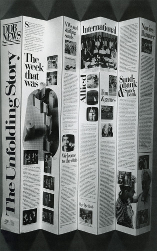 DDB News, Summer-Fall '85