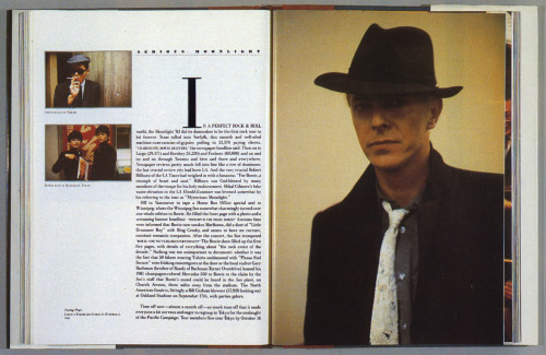 David Bowie's Serious Moonlight