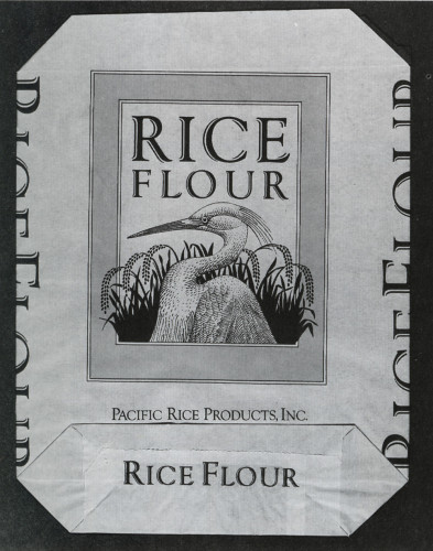 Pacific Rice Products, Rice Flour Sack
