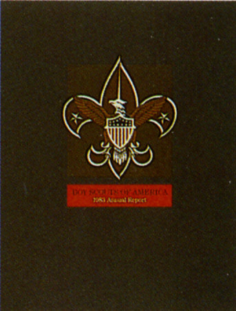 Boy Scouts of America Annual Report 1983