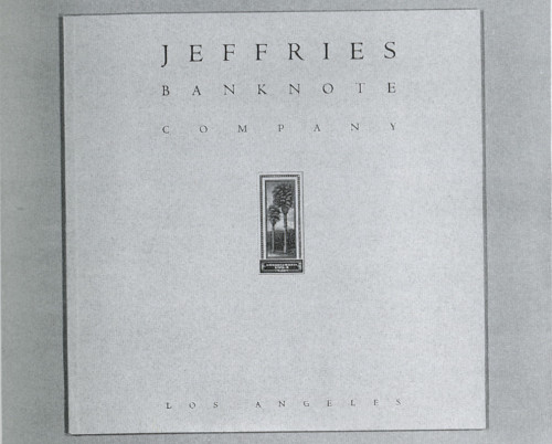 Jeffries Banknote Company