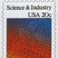Science and Industry (Postage Stamp)