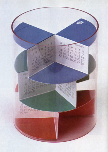 Container Corporation of America Corporate Calendar 1980