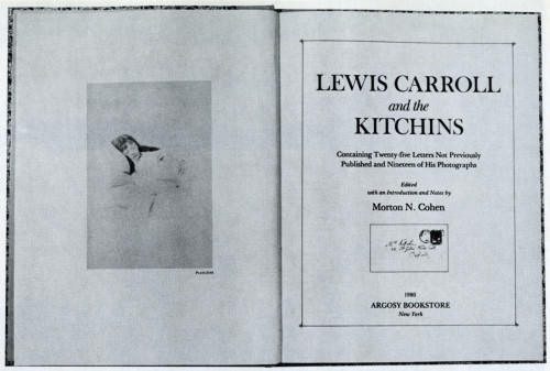 Lewis Carroll and The Kitchins