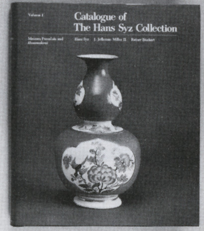 Catalogue of the Hans Syz Collection