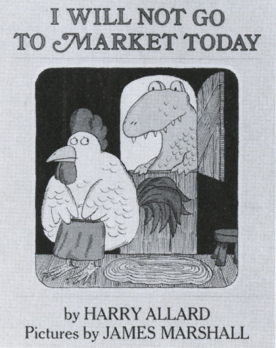 I Will Not Go to Market Today