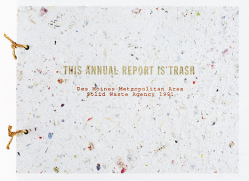 This Annual Report Is Trash