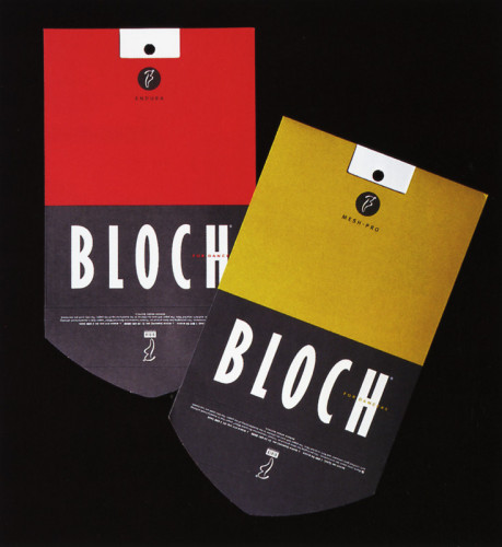Bloch Tights Packaging