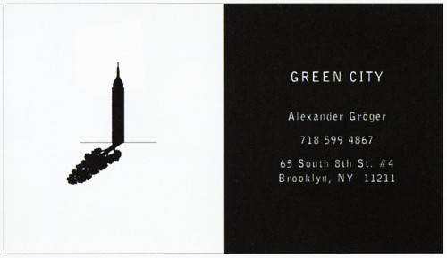 Green City Business Card