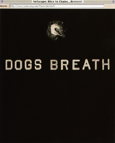 "Alice in Chains ""Dog's Breath"" Website"