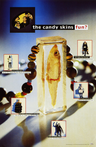 "The Candy Skins ""Oxford Times"" Poster"