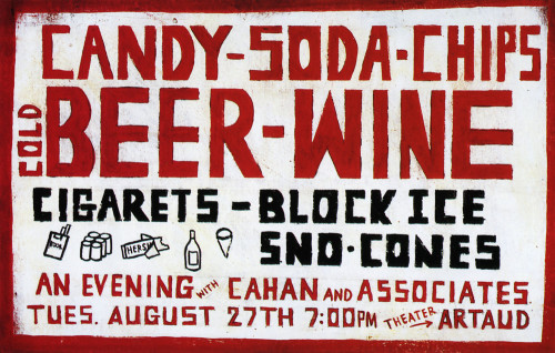 "Cahan ""Candy-Soda"" Poster"