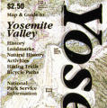 Map and Guide to Yosemite Valley
