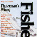 Map and Guide to Fisherman's Wharf
