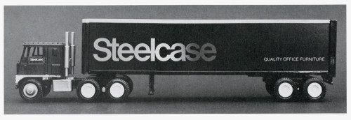 Steelcase Truck Graphics