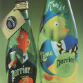 """The Art of Refreshment"" Perrier Bottles"