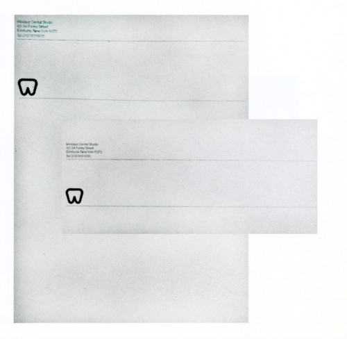 Windsor Dental Studio Stationery